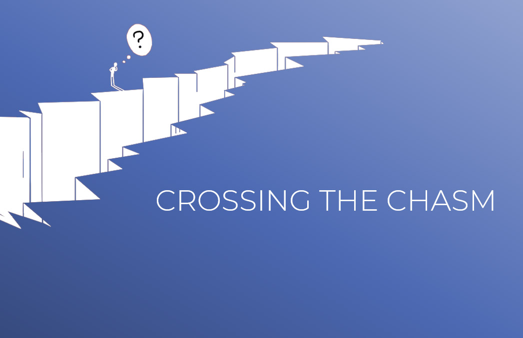 Crossing the Chasm: Bridging the Gap between your Idea and the Market - blog post image